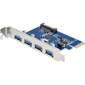 センチュリー CIF-USB3P4FL 高速データ転送!! UASP対応のUSB3.0を4ポート増設可能なインターフェイスカード!|3top
