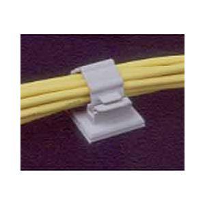 北川工業 CKN-13x100 CKNクランプ 両面テープ付ケーブル固定具 グレー 最大束線径14.4mm(100個入り)|3top