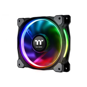 Thermaltake CL-F059-PL12SW-A Riing Plus 12 RGB Radiator Fan TT Premium Edition Single Pack(ファン増設用)|3top