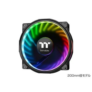 Thermaltake CL-F070-PL20SW-A Riing Plus 20 RGB Radiator Fan TT Premium Edition Single pack No Controller (FN1169)|3top