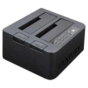 センチュリー CROS2EU3CP6G2 裸族のお立ち台DJクローンプラス SATA 6G Ver.2|3top
