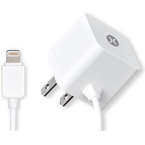 【箱汚れ品】dexim DCA324E-W Mini AC Charger with Lightning connector ホワイト JTT【在庫処分特価!】|3top
