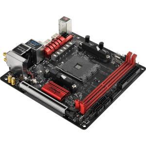 ASRock Fatal1ty AB350 Gaming-ITX/ac(MB3942)amdB350チップセット搭載miniITXマザーボード 3top