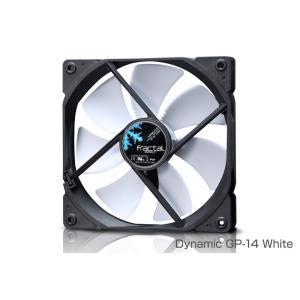 Fractal Design FD-FAN-DYN-GP14-BK Dynamic GP-14 Black 低騒音で大風量を実現。様々な目的や環境に適合する長寿命の流体軸受けファン(FN948)|3top