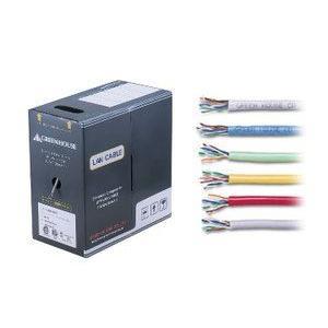 グリーンハウス GH-CBE300MLB カテゴリー5e対応LANケーブル(コネクタ無し)1000/100/10Mbps対応 より線(ライトブルー)|3top