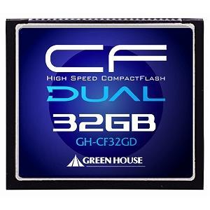 グリーンハウス [GH-CF32GD] UDMA対応 233倍速コンパクトフラッシュ 32GB|3top