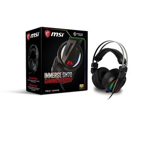 MSI Immerse GH70 GAMING Headset (SP786) MSI GAMINGヘッドセット|3top
