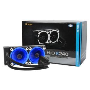 ANTEC KUHLER H2O K240 厚さ50mmの超薄型ヘッドを採用した水冷一体型ユニット|3top