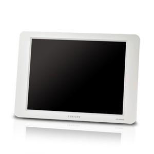 センチュリー LCD-8000V2W 8インチアナログRGBモニター plus one VGA グレイッシュホワイト|3top