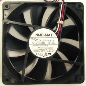 親和産業 [NMB-MAT-1225B12] PCケース用12cmファン 1200回転