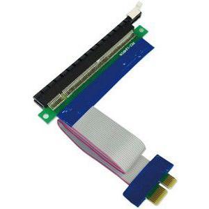 玄人志向 PCIEX16-X1/KIT PCI-Express x16→PCI-Express x1変換ケーブルキット|3top