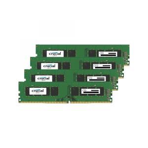 CFD Q4U2400CM-16G Crucial スタンダードモデル DDR4-2400 デスクトップ用メモリ 288pin DIMM 16GB 4枚組|3top