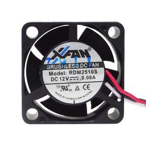 親和産業 RDM2510S 冷却性と静音性のバランスがとれた薄型25mmファン 10000rpm【在庫有り即納!】【ネコポス対応】|3top