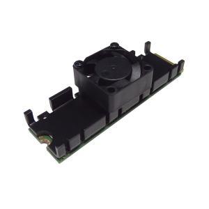 親和産業 SS-M2S-HS03 長尾製作所 職人シリーズ ファン付M.2 SSD用ヒートシンク【メール便対応】【少量在庫有り即納!】|3top
