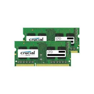 CFD W3N1600CM-2G Crucial スタンダードモデル DDR3L-1600 ノート用メモリ 204pin SO-DIMM 2GB 2枚組|3top