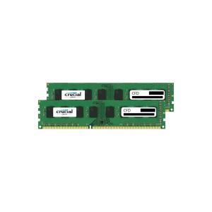 CFD W3U1600CM-4G Clucial スタンダードモデル DDR3-1600 デスクトップ用メモリ 240pin DIMM 4GB 2枚組|3top