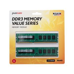 CFD W3U1600PS-4G DDR3 PC12800 CL11 4GB x 2枚組み(合計8GB)ヒートシンクなしモデル|3top