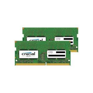 CFD W4N2400CM-16G Crucial スタンダードモデル DDR4-2400 ノート用メモリ 260pin SO-DIMM 16GB 2枚組 3top
