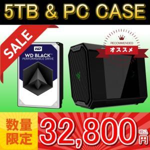 WD Black 5TB HDD&キューブPCケースセット!WesternDigital WD5001FZWX WD Black 5TB / ANTEC CUBE RAZER Razer Inc.監修 Mini-ITX対応キューブPCケース|3top