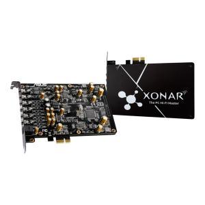 ASUSTeK XONAR/AE Xonar AE 192kHz/24-bit ハイレゾ音質の 7.1 PCIe ゲーム向けサウンドカード、ヘッドフォンアンプ、高品質 DAC、独自の EMIバックプレート|3top