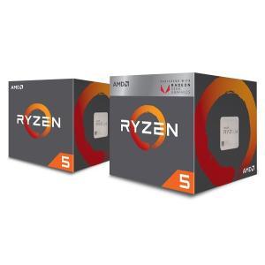AMD YD2600BBAFBOX Ryzen 5 2600 with Wraith Stealth...