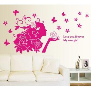 ★お部屋が素敵な空間に早変わり!!貼るだけで簡単に模様替えできます♪  部屋を明るく華やかに。壁紙の...