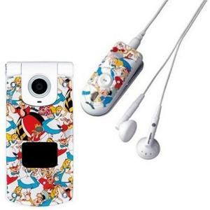 mobilecast (カスタムジャケット セット商品) ステレオ・インイヤフォン ( FOMA P902i専用) アリス MPX3000RPDJ- 488pista