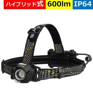 GENTOS LED ヘッドライト USB充電式 DPX-318H