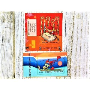 海外切手 海外クリスマス切手 フィンランド切手 【2枚セット】 #340