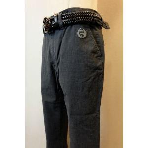 メンズファッション ブランド「カステルバジャック ポプリンストレッチパンツ」シャツの生地として使われ...