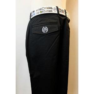 メンズファッション ブランド「カステルバジャック ストレッチパンツ」伸縮性に優れたストレッチ素材のノ...