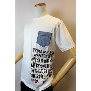 メンズファッション ブランド「カステルバジャック スイスコットンポケット付き半袖Tシャツ」肌触りの良...