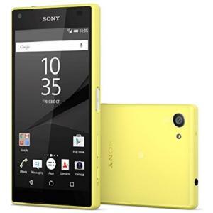 Sony Xperia Z5 Compact E5823 LTE(Yellow 32GB 海外版 S...