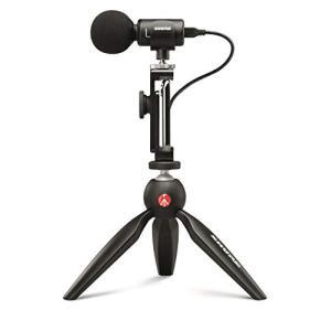 SHURE(シュアー) デジタル・ステレオ・コンデンサー・マイクロホン+ビデオアクセサリー MV88+VIDEO-KITの商品画像 ナビ