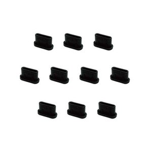 monofive USB3.1 Type-Cポート防塵保護カバーキャップ (10個入り) シリコンタイプ MF-TYPEC-C10Bの商品画像|ナビ