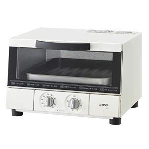 タイガー オーブン トースター うまパン トリプルヒーター設計 マットホワイト KAE-G13N-WEの画像