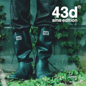 レインブーツ 長靴 折りたたみ パッカブル レディース ショート 全4種類 リボン 付き 折りたたみレインブーツ 43Degrees|4ss