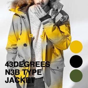 43Degrees N3B type ジャケット アウターウェア|4ss