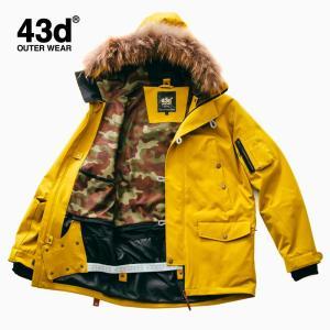 スノーボードウェア ジャケット 単品 ユニセックス 43Degrees N3B type|4ss