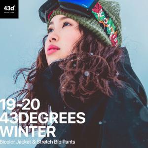 【予約商品】43DEGREES スノーボードウェア スキーウェア 上下セット レディース 新作 ジャケット+ビブパンツ セット スノボウェア ウェア スノボ スノボー|4ss