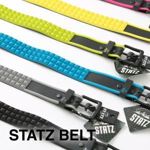 ラバースタッズベルト / デザインベルト / スノーボード ベルト / ブロック ベルト|4ss