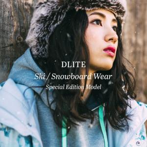 スノーボードウェア レディース スキーウェア 上下 セット DLITE 新作ジャケット+旧品パンツ スノボウェア スノーボード ウェア スノボ スノボー ウェア|4ss