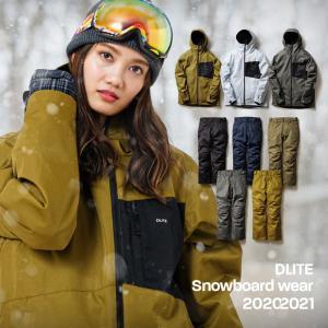 セット割 スノーボード ウェア レディース スキーウェア 上下 セット DLITE スノボウェア スノーボードウェア 2021 スノボ 20-21 大きいサイズ|4ss