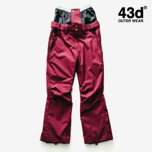 【セール】スノーボードウェア パンツ メンズ レディース ユニセックス 43Degrees Just fit type【セール品の為 交換・返品不可】|4ss