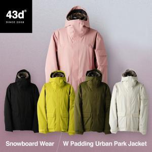 43DEGREES スノーボードウェア スキーウェア ジャケット単品 レディース 新作 スノボウェア スノーボード ウェア スノボ スノボー ウエア|4ss