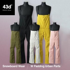 43DEGREES スノーボードウェア スキーウェア ビブパンツ 単品 レディース 型落ち スノボウェア スノーボード ウェア  【交換・返品不可】|4ss