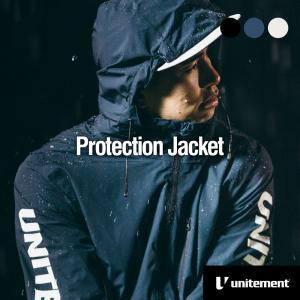 ゴルフ メンズ unitement Protection Jacket レインウェア ジャケット 防風 撥水 上着 ウインドブレーカー ウィンドブレーカー GOLF ゴルフウェア 合羽|4ss