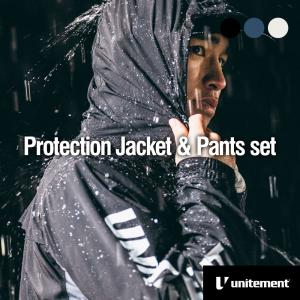 ゴルフ メンズ unitement Protection Jacket & Pants レインウェア 上下 防風 撥水 上着 ウインドブレーカー ウィンドブレーカー GOLF ゴルフウェア|4ss
