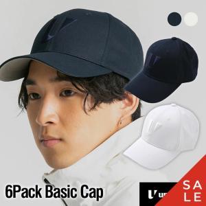 【レインカバー付】ゴルフ メンズ レディース キャップ unitement 6Pack Basic Cap キャップ 帽子 GOLF ゴルフウェア ゴルフ|4ss