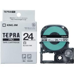 キングジム用 テプラPRO互換 テープ カートリッジ 24mm SS24K|5107store